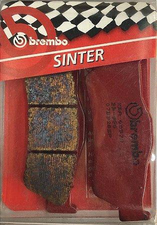 07BB28SP Pastilha de freio Brembo Sinterizada Traseira