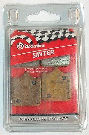 07BB3396 Pastilha de freio Brembo Original Dianteira