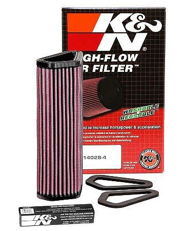 Filtro de Ar KN DU-1007 Ducati 1098 848 Diavel StreetFighter