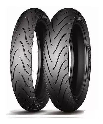 Par Pneus Michelin Pilot Street 110/70-17 + 140/70-17