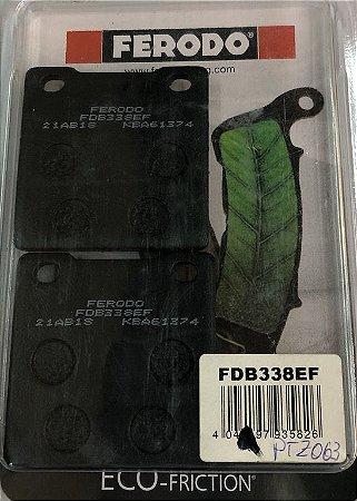 FDB338EF Pastilha de Freio Ferodo Orgânica