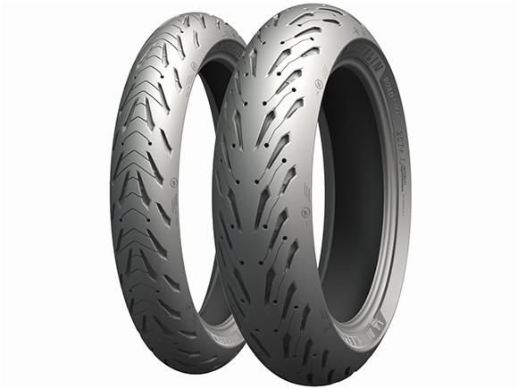 Par Pneus Michelin Pilot Road 5 120/70-17+160/60-17