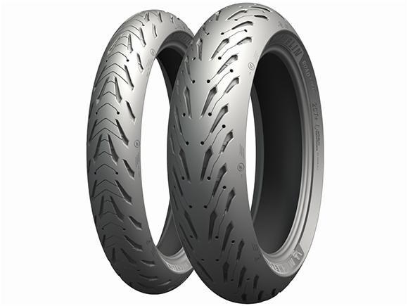 Par Pneus Michelin Pilot Road 5 120/70-17+190/55-17
