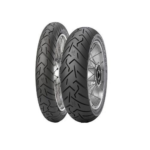 Par Pneus Pirelli Scorpion Trail II 100/90-19+150/70-17