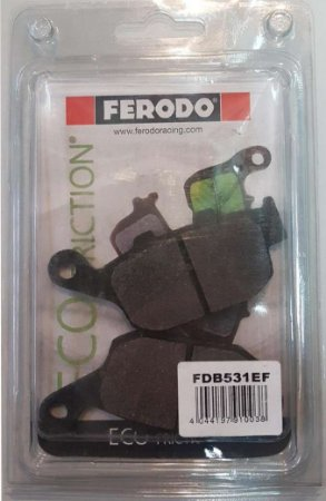 FDB531EF PASTILHA DE FREIO ORGANICA VD147/2