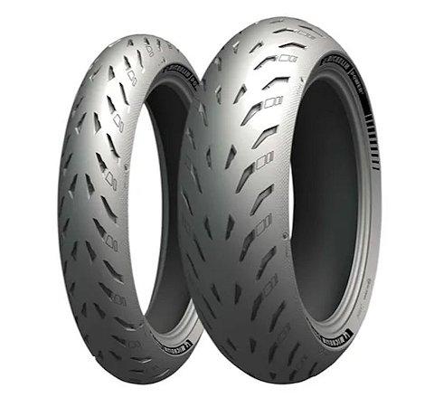 Par Pneus Michelin Power 5 120/70-17+200/55-17