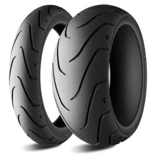 Par Pneus Michelin Scorcher 11 130/60-21+240/40-18 Breakout