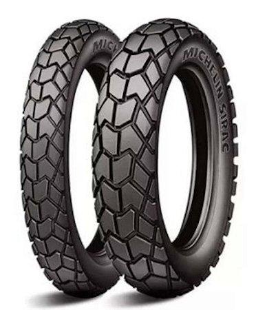 Par Pneus Michelin Sirac 90/90-21+120/80-18