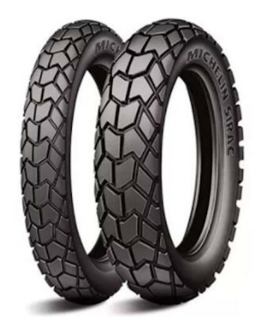 Par Pneus Michelin Sirac 90/90-21+130/80-17