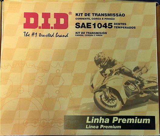 Kit Transmissão Did YBR 125E -45/14T- 428HS-118L s/ retentor
