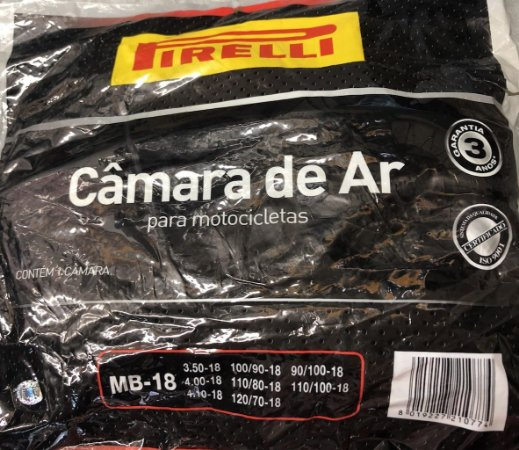 Câmara De Ar Pirelli MB18 Aro 18