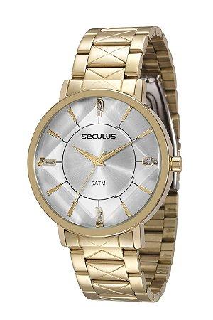 7c13b7cff36 Relógio feminino dourado seculus analógico relógios jpg 300x450 Relogio  feminino dourado melhores marcas