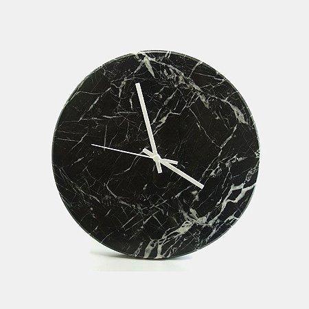 Relógio de parede em Mármore