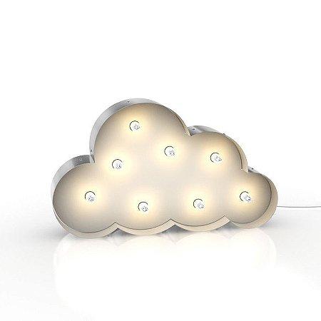 Luminária nuvem retrô