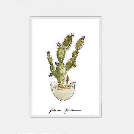 Cactus Floral 03