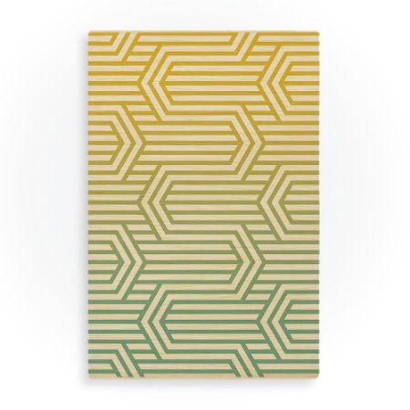 Quadro Geometric Buttercup Amarelo