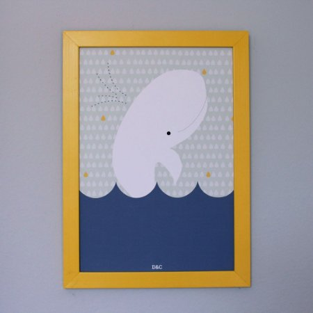 Poster Baleia