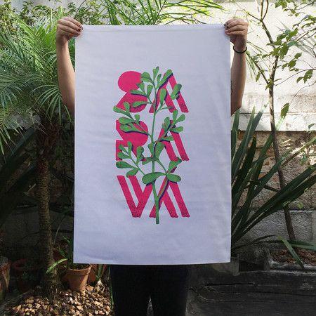 Bandeira Saravá