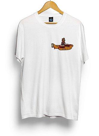 Camiseta Bordada Beatles Yellow Submarine