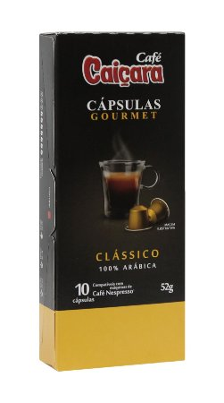 kit Cápsulas Caiçara Clássico (20 Caixas / 200 cápsulas)