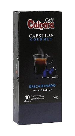 kit Cápsulas Caiçara Descafeinado  (10 Caixas / 100 cápsulas)