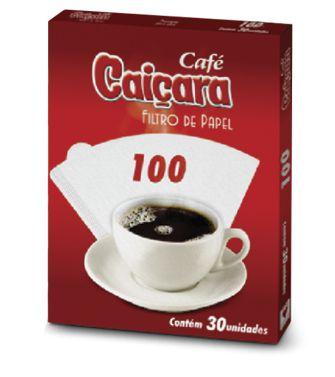 Filtro de Papel n°100 - Caixa c/30 filtros