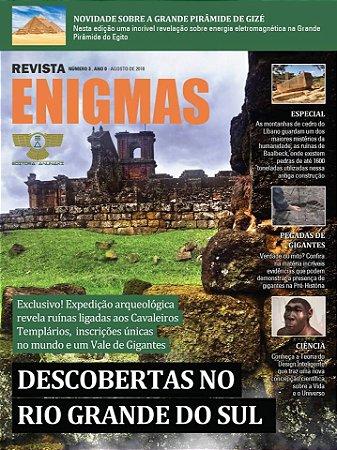 REVISTA ENIGMAS NÚMERO 3 IMPRESSA