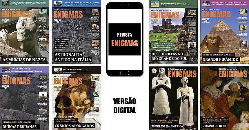 REVISTA ENIGMAS DIGITAL COMBO 1-9