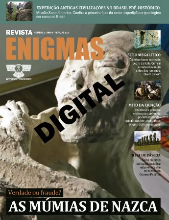 REVISTA ENIGMAS NÚMERO 1 DIGITAL