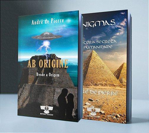 COMBO - AB ORIGINE + ENIGMAS - A HISTÓRIA SECRETA DA HUMANIDADE