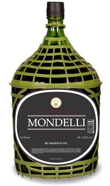 Vinho de Mesa - Mondelli Tinto Suave 4,6L