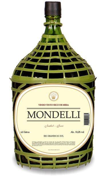 Vinho de Mesa - Mondelli Tinto Seco 4,6L