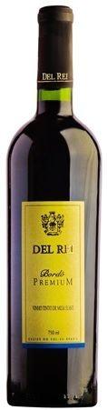 Vinho de Mesa - Del Rei Tinto Suave Bordo Premium 750ml