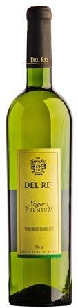 Vinho de Mesa - Del Rei Branco Seco Premium 750ml
