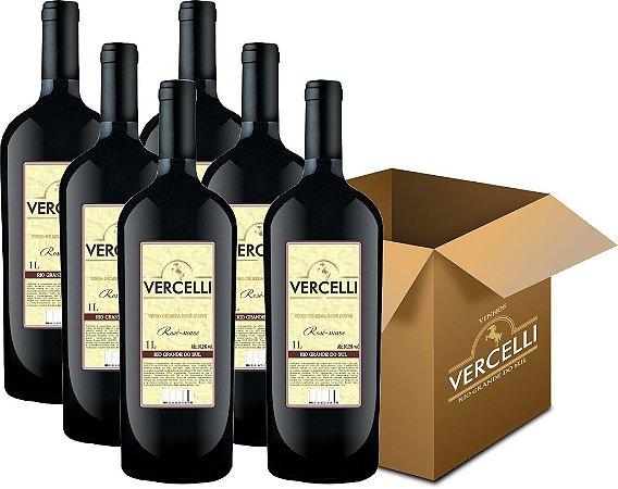 Vinho de Mesa - Vercelli Rosê Suave Isabel 6x1L
