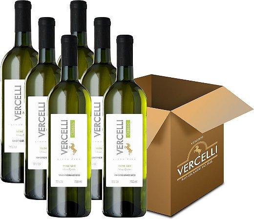 Vinho Fino - Vercelli Classic Branco Seco Moscato 6x750ml