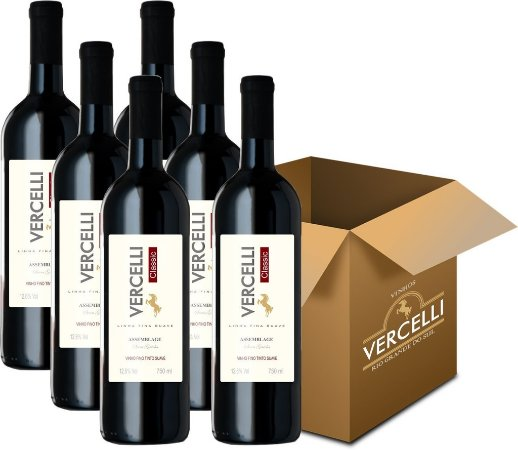 Vinho Fino - Vercelli Classic Tinto Suave Assemblage 6x750ml