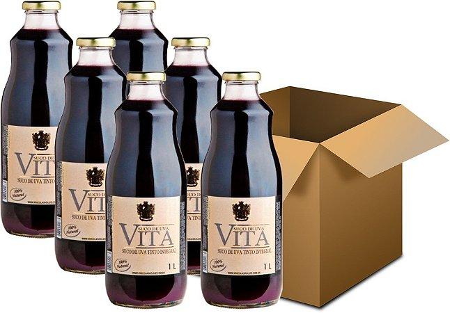 Suco de Uva - Vita Tinto Integral 6x1L