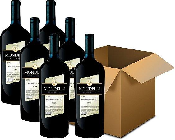 Vinho de Mesa - Mondelli Tinto Seco 6x1L