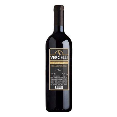 Vinho de Mesa  - Vercelli Tinto Seco Seleção 750ml