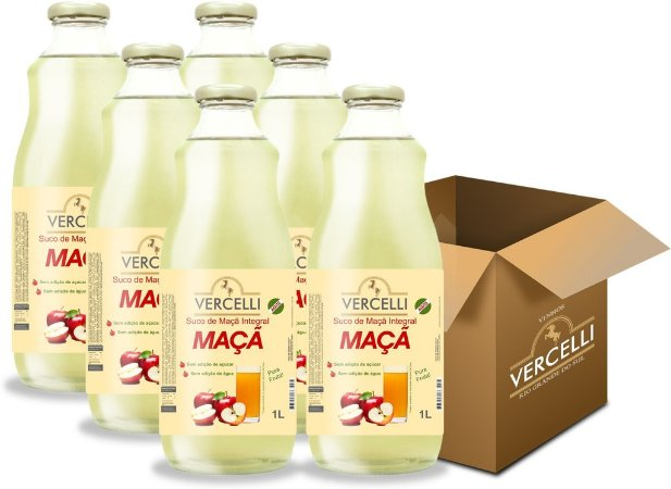 Suco de Maçã - Vercelli Integral 6x1L