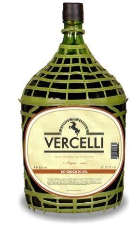 Vinho de Mesa - Vercelli Branco Suave Niágara 4,6L