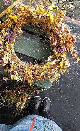 Guirlanda de Flores Secas