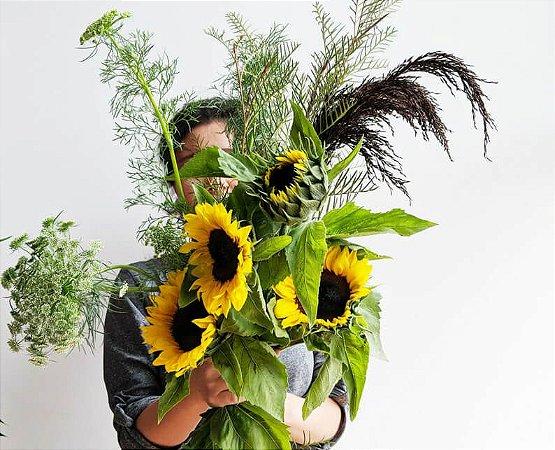 Buquê Simplicidade com Flores de Época