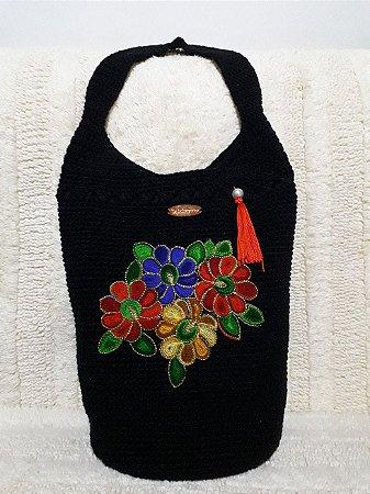 Bolsa Crochê - Coleção Flora