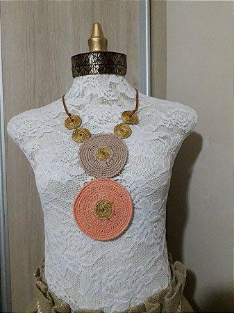 Acessório em Crochê - Coleção Etnia