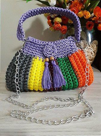 Bolsa Crochê - Coleção Cindy - Varicor