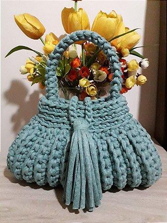 Bolsa Crochê - Coleção Cindy - Fio de Malha