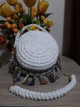 Bolsa Crochê - Coleção Grenada - Fio de Malha