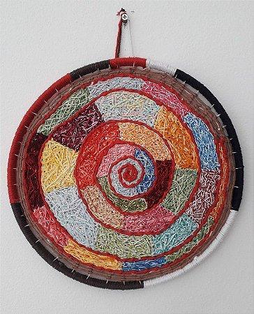 Mandala Energia das Cores - Bordado Criativo - 24cm